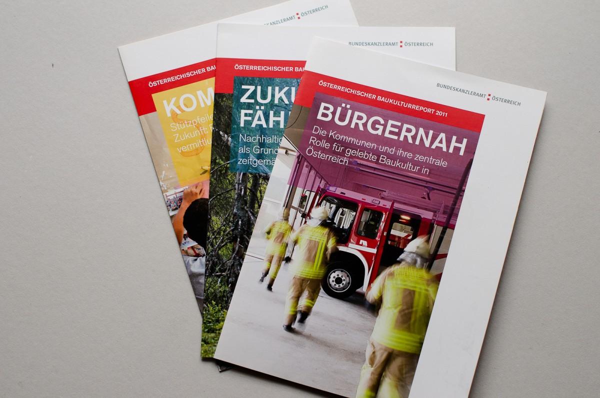 Baukulturreport 2011 Informationsfolder